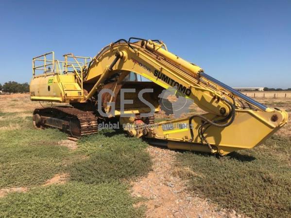 2007 Sumitomo SH350HD-3B Excavator ECCX13 Not Running