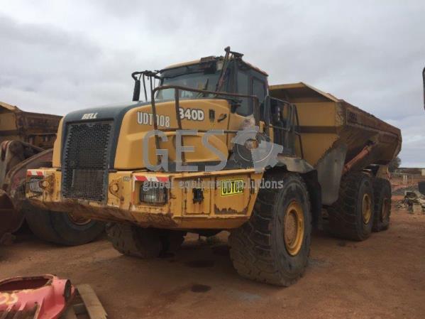 Bell B40D 6x6 Articulated Truck UDT08