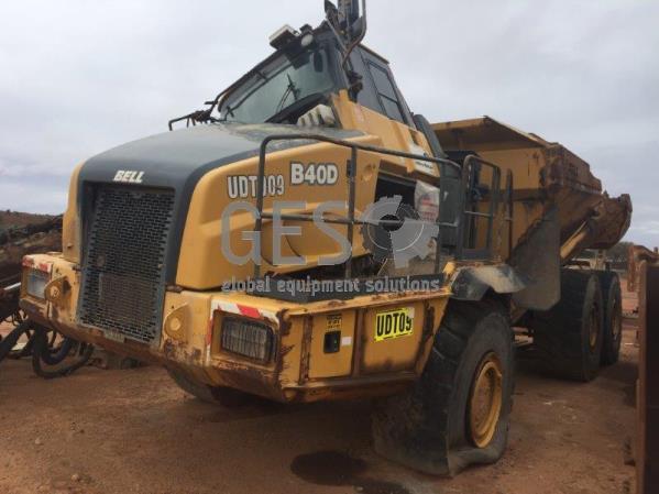 2011 Bell B40D 6x6 Articulated Truck UDT09