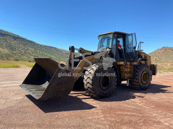 This is a 2010 Caterpillar 972H Wheel Loader