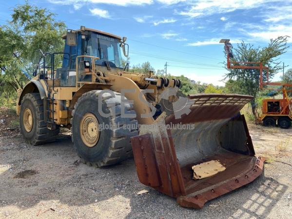 2012 Caterpillar 980H NON Running Asset ME12