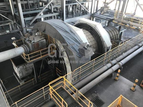 Ball Mill 6.5 mtr Diameter x 9.95 mtr Length