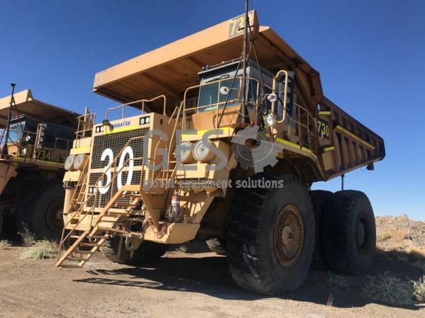 Komatsu 630E Rigid Dump Truck Asset HT730