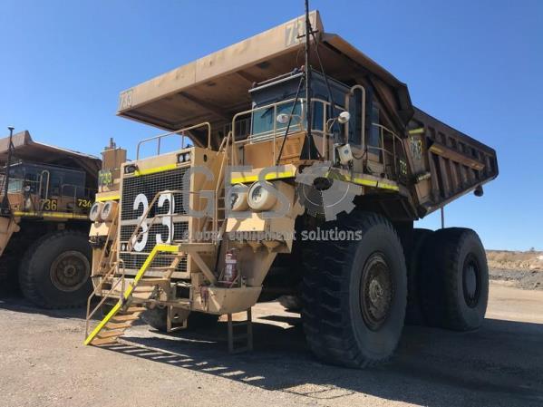 Komatsu 630E Rigid Dump Truck Asset HT733