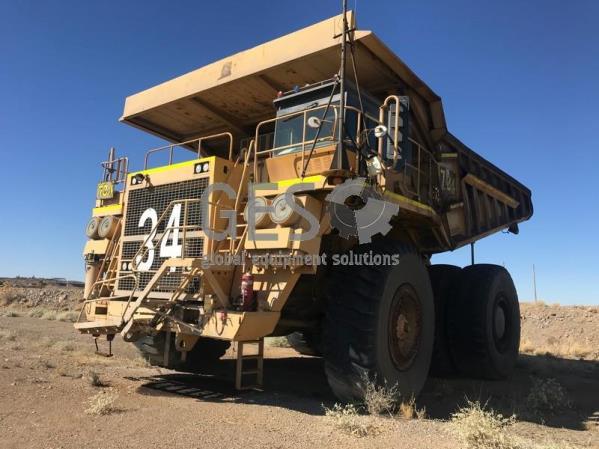 Komatsu 630E Rigid Dump Truck Asset HT734