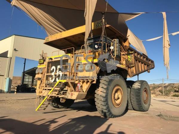 Komatsu 630E Rigid Dump Truck Asset HT735