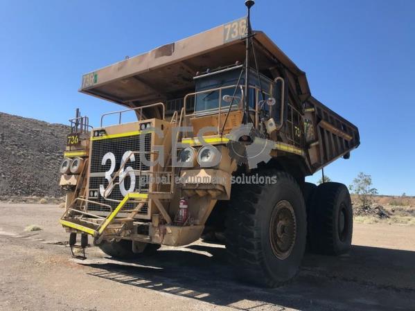 Komatsu 630E Rigid Dump Truck Asset HT736