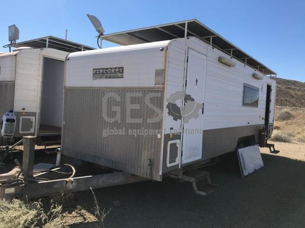 2009 Explorex Caravan Cribroom plus WA 7.4 EXP0902