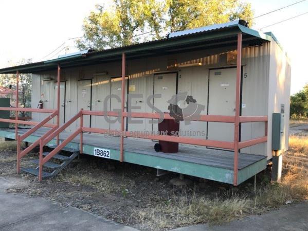 Ausco Laundry, Bathroom & Toilet building 12 x 3 mtr