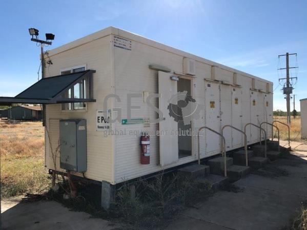 Campac Laundry & Ablution building 12 x 3 mtr E Pod Ablution 1