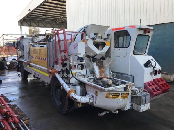 2017 Jacon Transmix 5000 Combo Shotcrete Spray & Agitator Truck