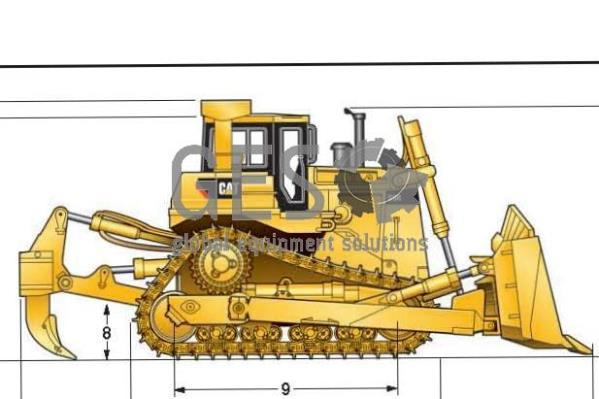 Wanted: Caterpillar D9R with multi shank ripper
