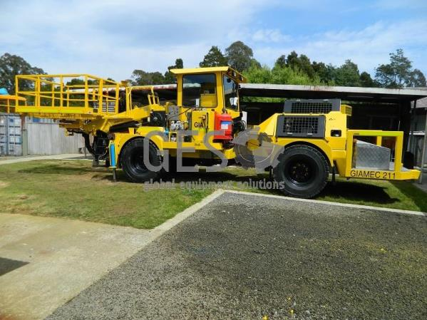 2008 Giamec 211 Utility Service Vehicle