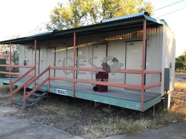 Ausco Laundry, Bathroom & Toilet building 12 mtrs long x 2.4 mtrs Overview