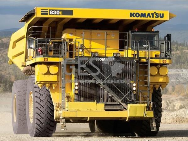 Wanted Komatsu 830E Dump Trucks x 8 units