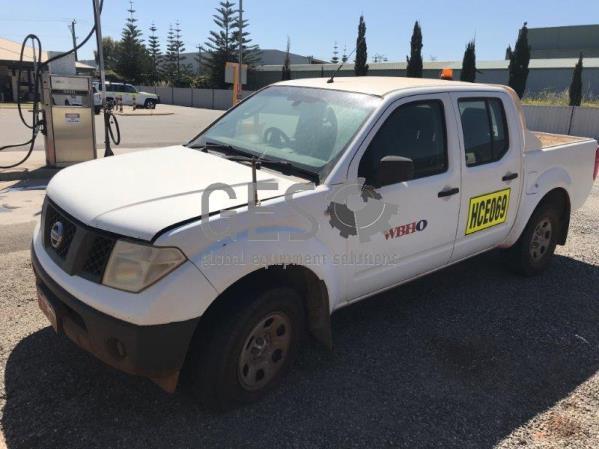 2007 Nissan Navarra D40 4x4 Auto HCE069