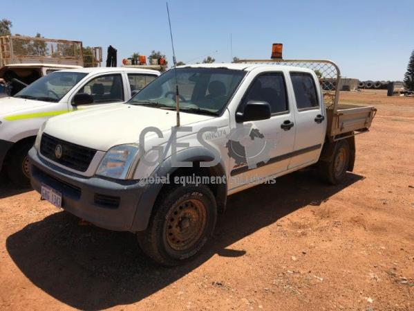 2005 Holden Rodeo RA Dual Cab Tray Back HNC174
