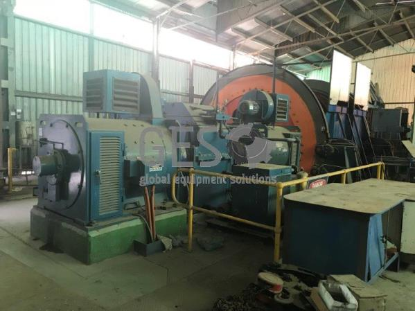 600 KW Goninan and Co Double Drum Ore Haulage Winder
