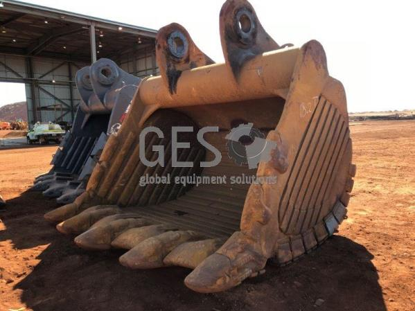 Hensley 15 cbm Bucket to suit PC3000 Repaired & work ready