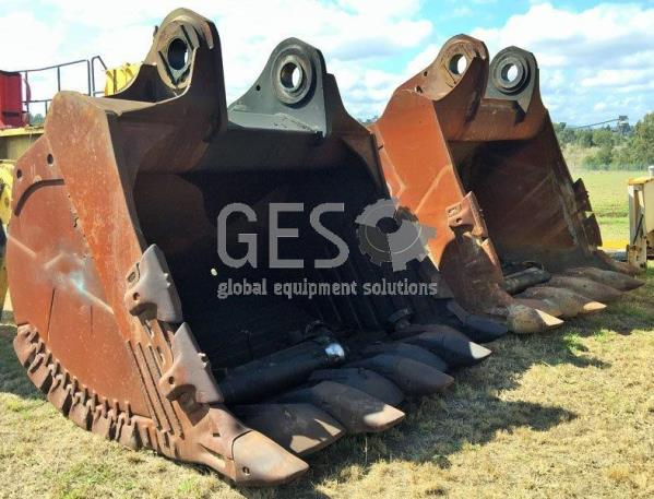 Jaws & JEC 15 m3 Buckets to suit Komatsu PC3000-6