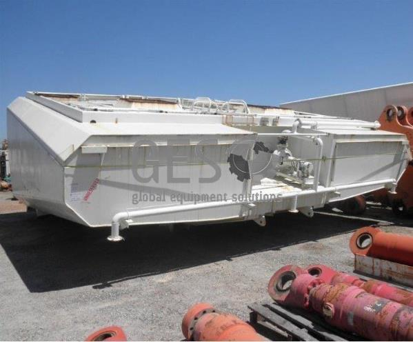 Custom Water Tank for Liebherr T262 Truck