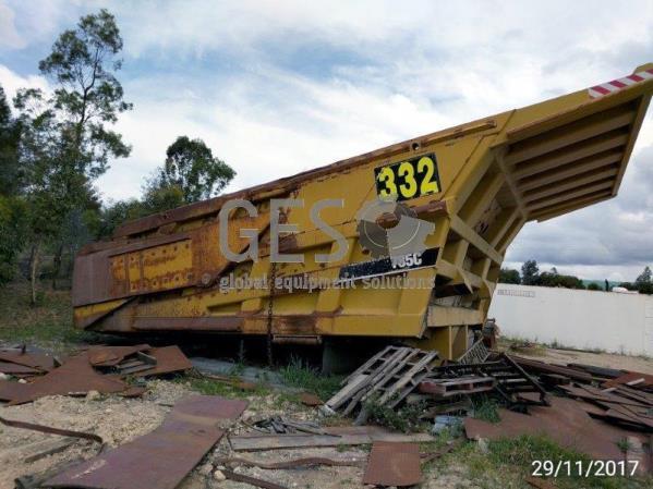 ATA Agora Coal Dump Body with Tailgate Caterpillar 785C
