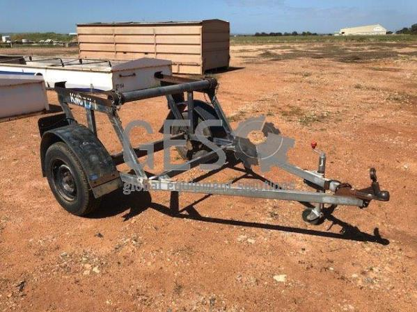 Custom Single Axle Cable Drum Trailer KNCT71