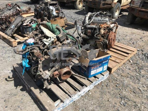 Toyota Engines V8 NON Running ex Landcruiser 70 Series x 2 Lot no 9