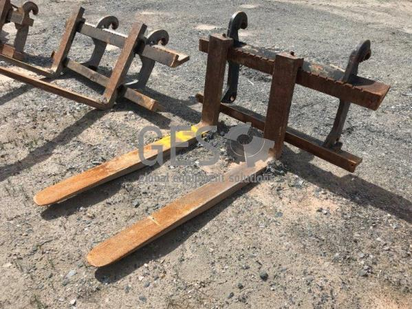 Volvo L70 Quick Hitch Fork Attachment FK1