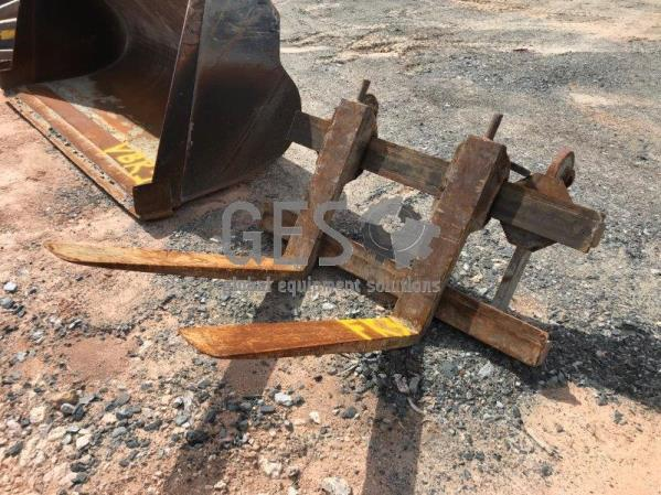 Volvo L70 Quick Hitch Fork Attachment FK3