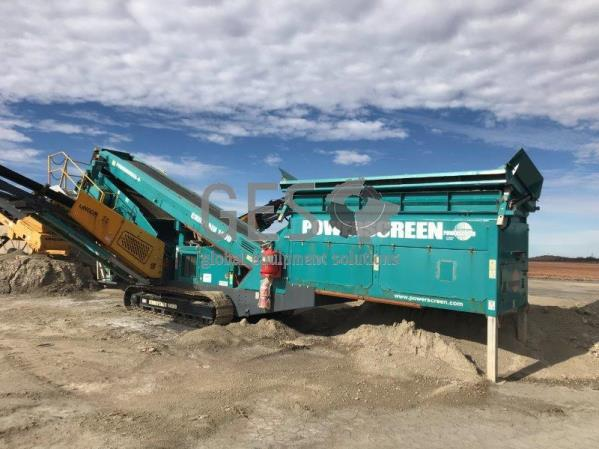 2014 Powerscreen Chieftain 1400 Sizing Screen
