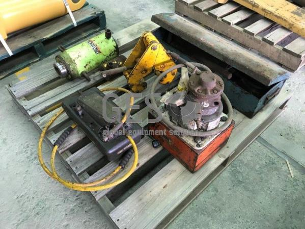 Pallet of Hydraulic Electric Power Pack & Tools