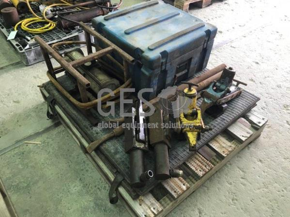 Pallet of Hydraulic Tools