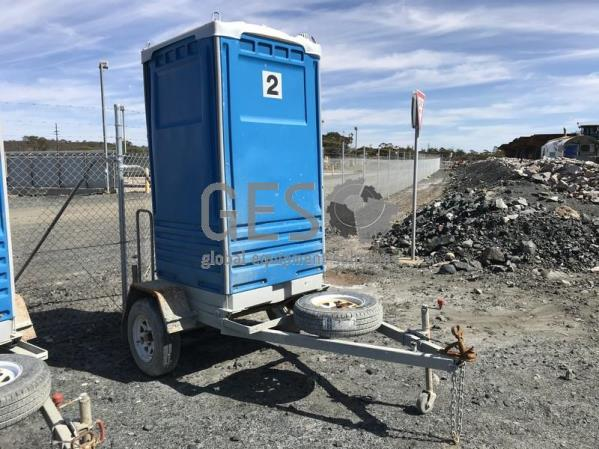 2014 Formit Toilet on Single Axle Trailer x 2 units 2 and 3