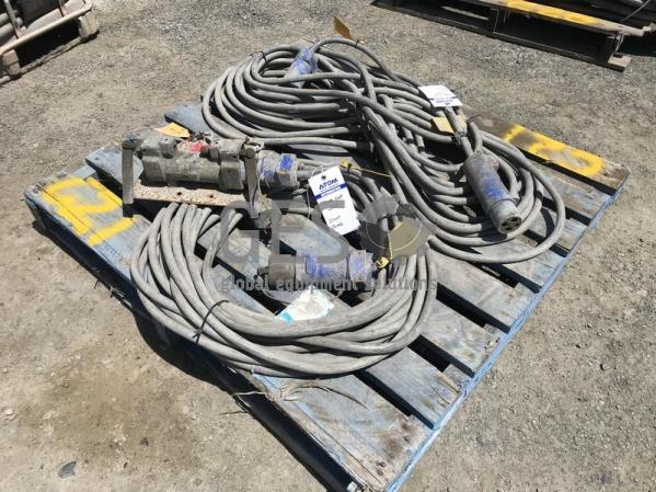 2.5 mm2 Pump Extension lead x 20 mtrs and 15 mtrs with Crouse-Hinze Plugs and Back to Back C21