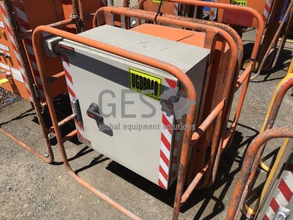 Custom Distribution Board 3 Way 415 Volt UGDB040