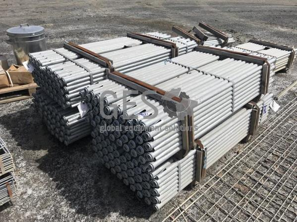 Galvanised Airleg Split Sets 1.5 mtr x 35mm Package x 5 Packs