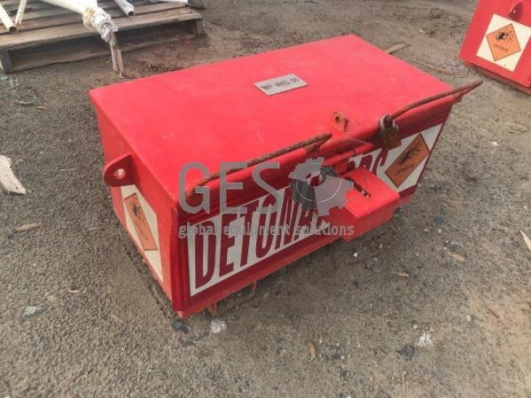 Detonator Storage Box Red WP MAG 06