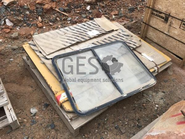 Parts Package of Misc Parts Incl Cabin Glass Templates etc