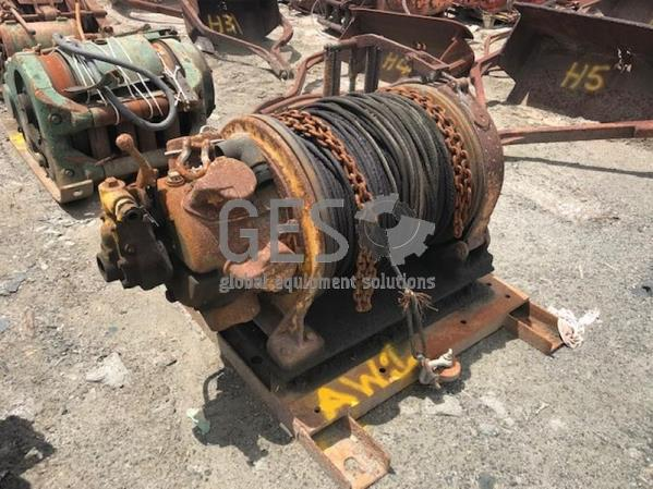 Ingersoll Rand Winch Air Twin Refurbished AW2