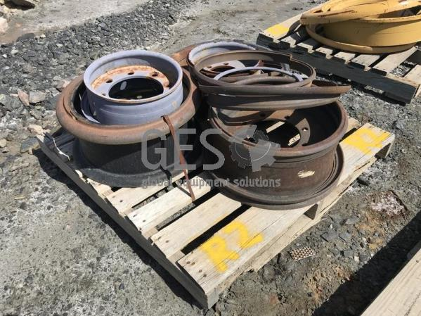 Rims Package to suit various machines Pallet R2.