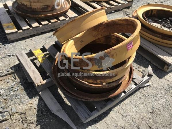 Rims Package to suit various machines Pallet R4.