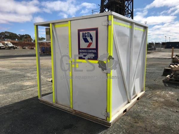 RCT Control Master CM2000D Containerised Remote Operators Hut
