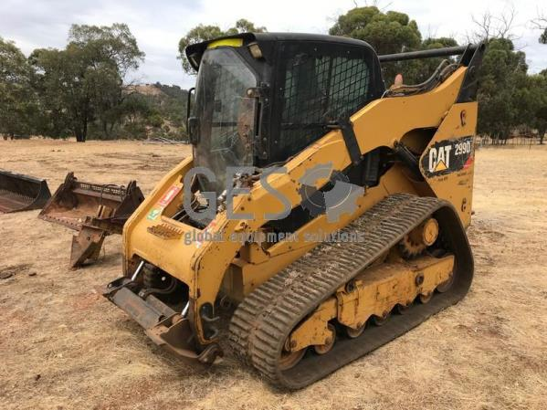 2011 Caterpillar 299D Skidsteer Loader