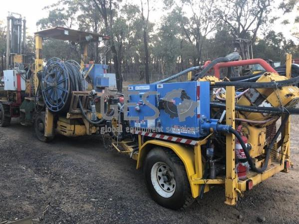 1990 Atlas Copco Simba H263 ITH Rig & Booster Package