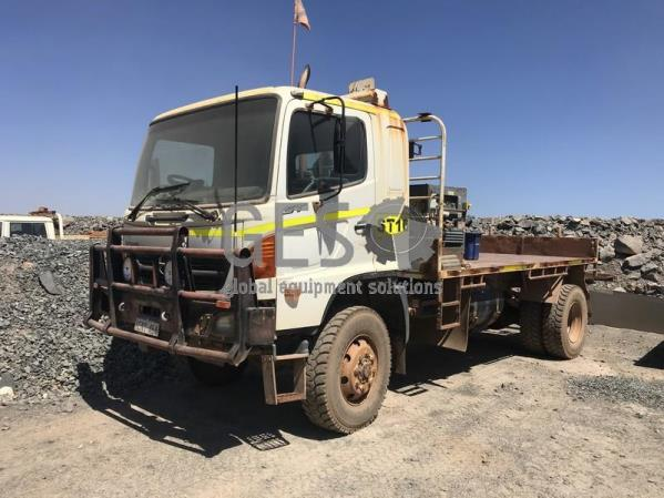 2007 Hino GT1J Tray Truck with Compressor