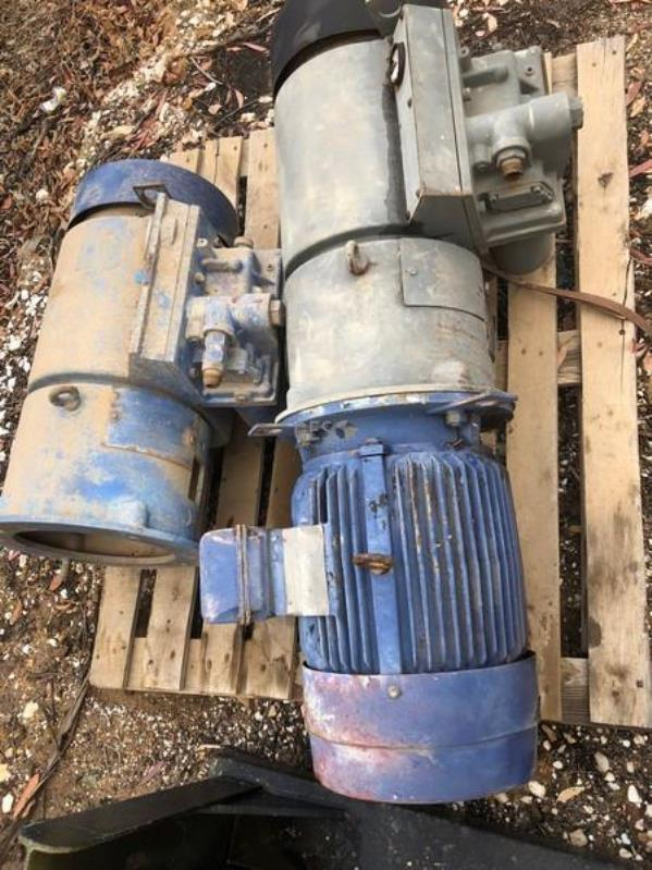 CompAir Underground Drill Rig Air Compressors x 2