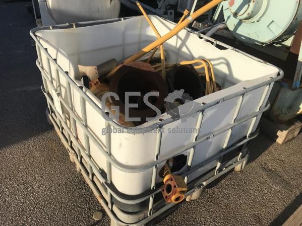 UNRESERVED Caterpillar Parts Crate including Accumulator