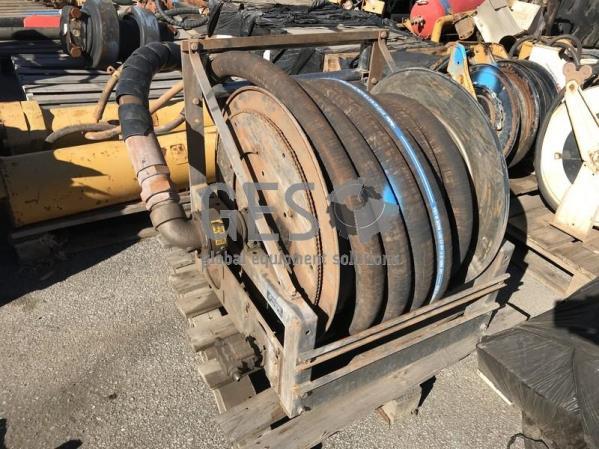 UNRESERVED - Cooper Hose Reel Hi Flow Fuel with Banlaw Connector