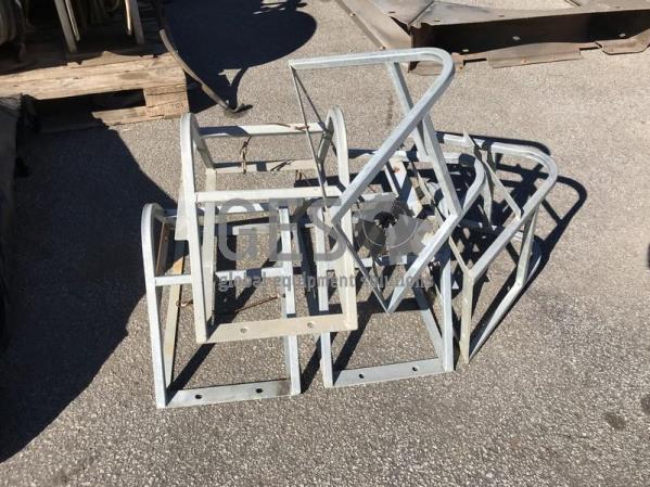 UNRESERVED Custom Wheel Chock Holders x 5